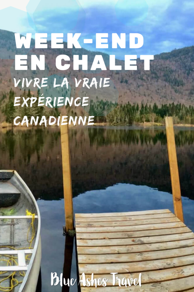 Pin Chalet canadien