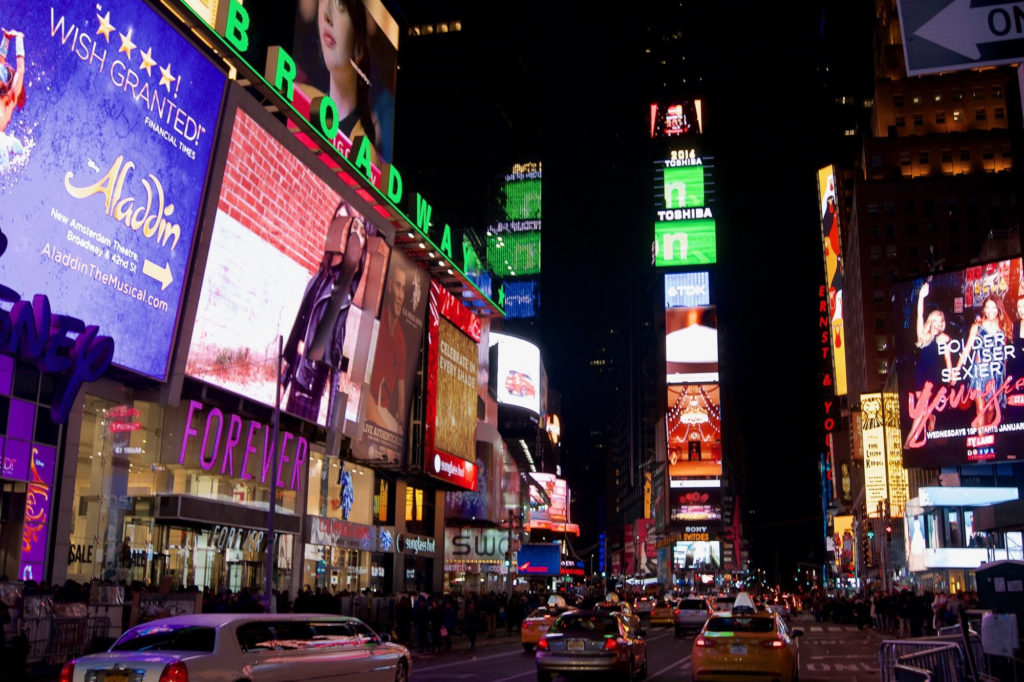Nouvel An Times Square