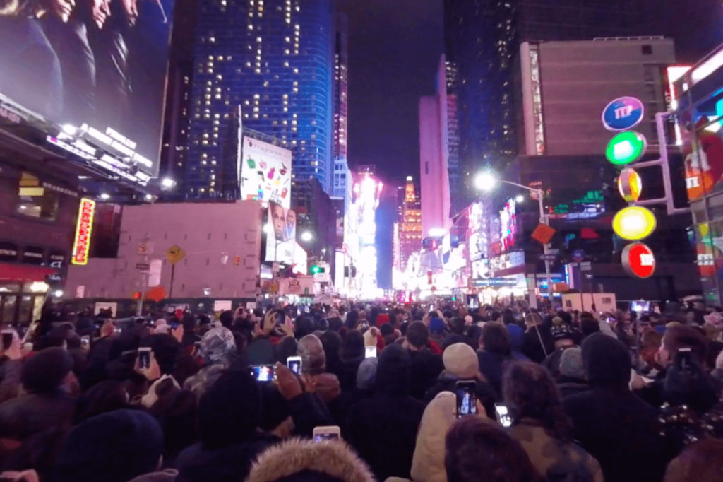 Nouvel An Times Square Ball drop