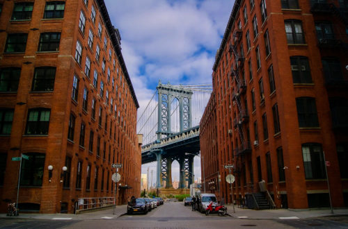 Photo Downtown Manhattan Bridge Once Upon a Time in America