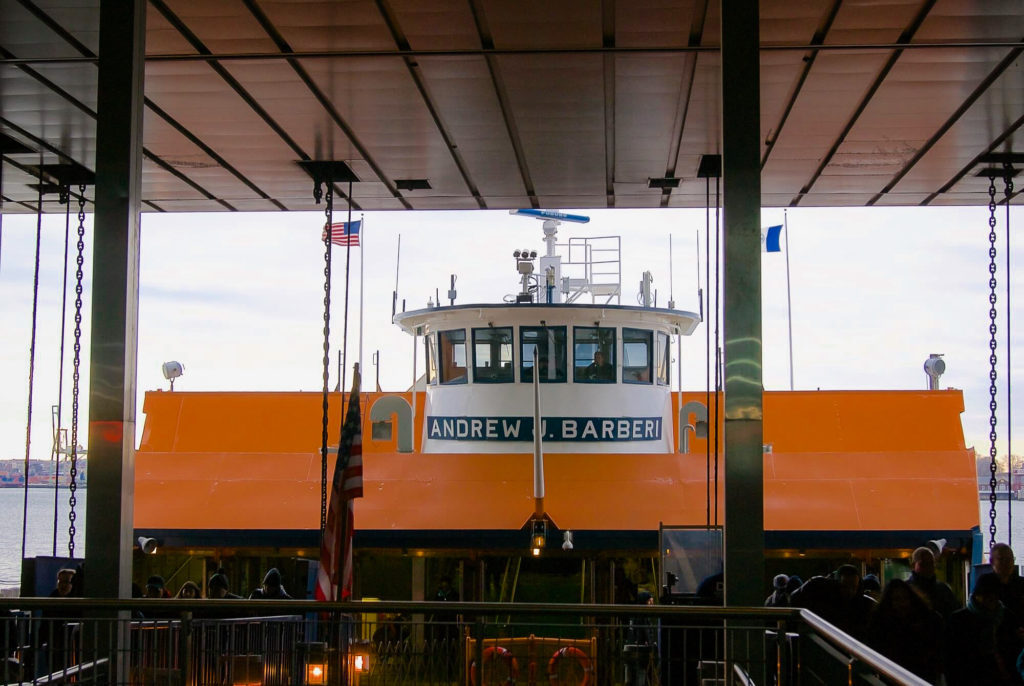 Photo Downtown Manhattan Staten Island Ferry