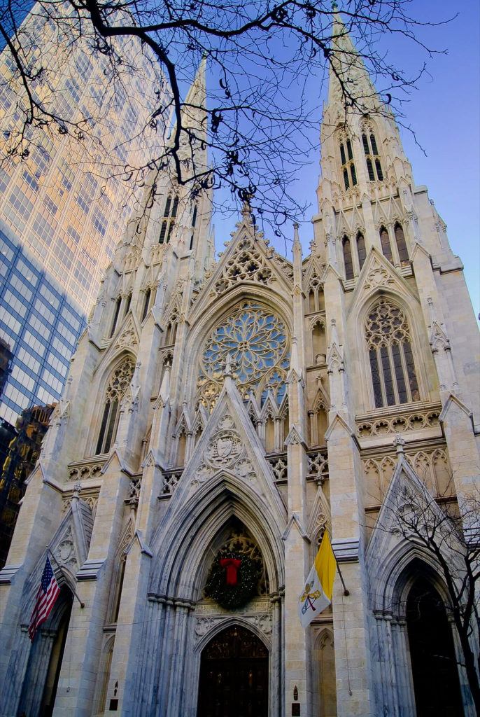 Visiter centre de Manhattan Eglise