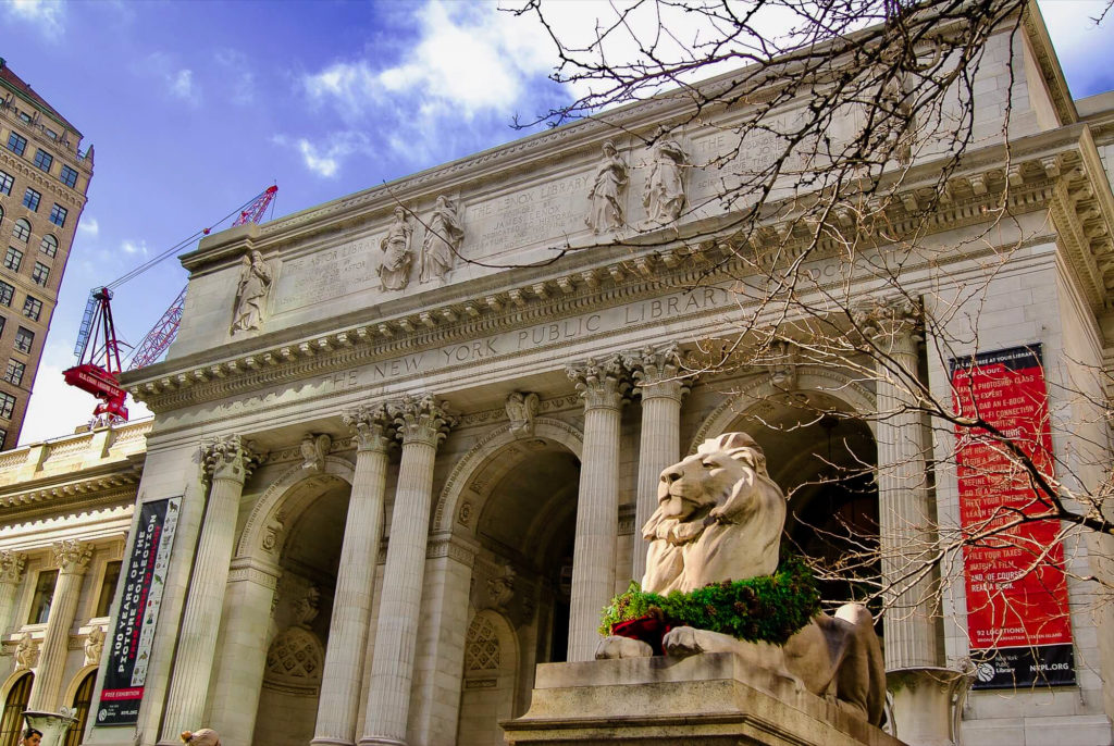 Visiter centre de Manhattan New York Library