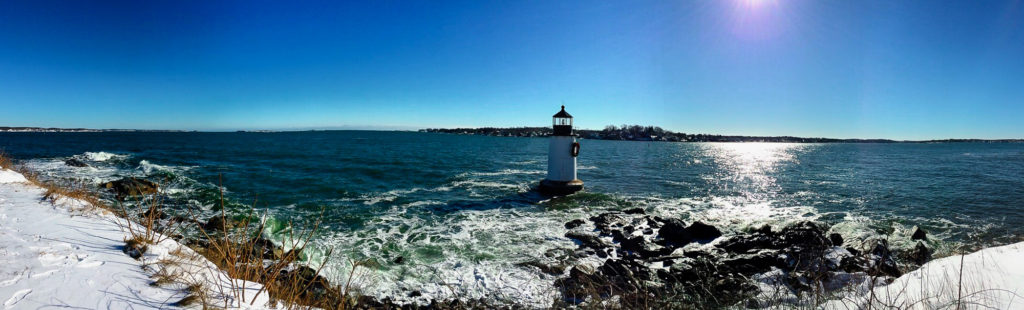 Salem Winter Island Panorama