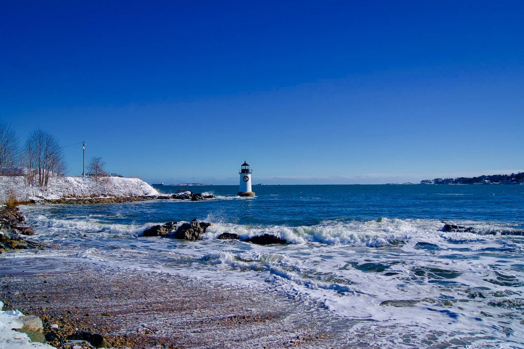Salem Winter Island Phare