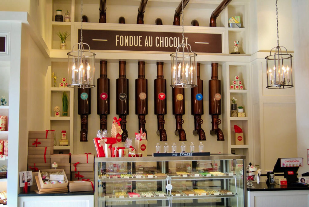 Visite Quebec Chocolats Favoris fondues