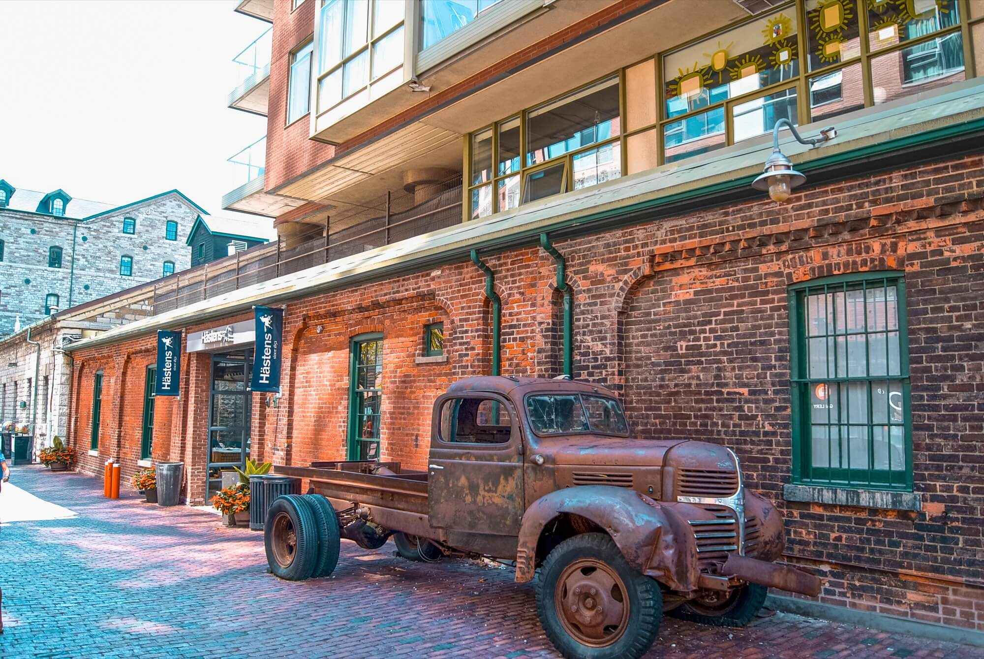Quartier de Distillery District, Toronto