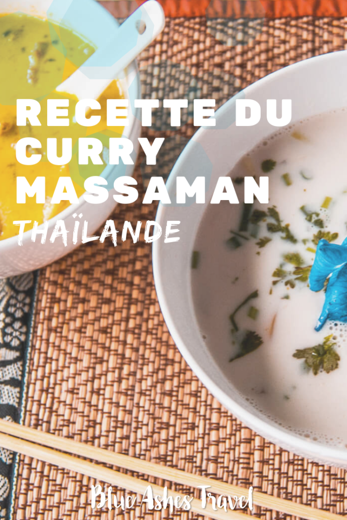 Pin Recette du curry massaman