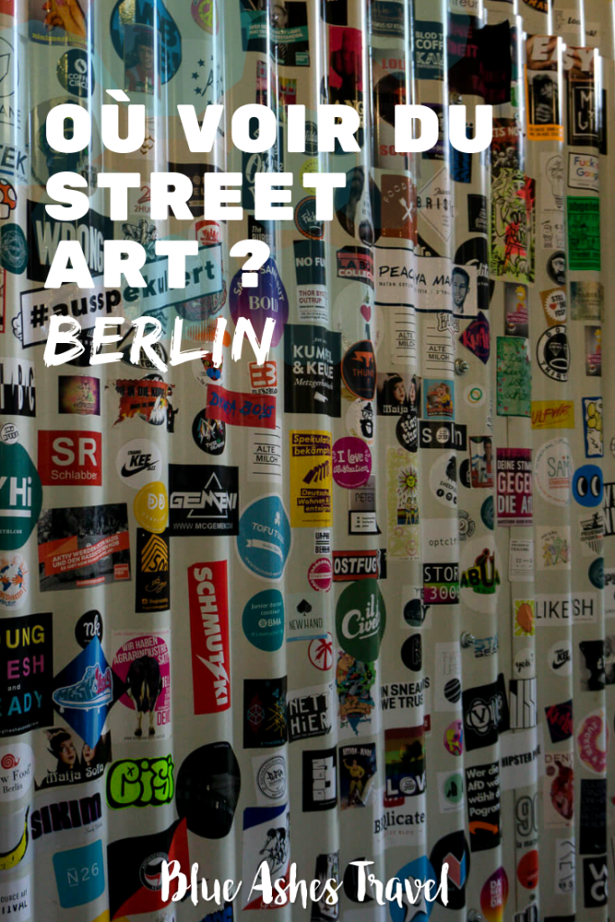 Pin Street art à Berlin