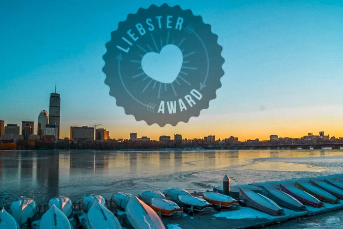 Liebster Award Blue Ashes Travel